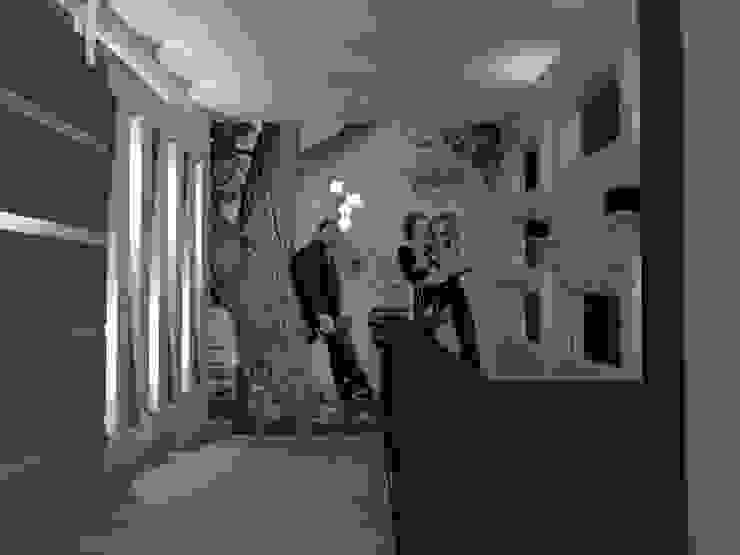 ESCALERAS Pasillos, vestíbulos y escaleras eclécticos de AurEa 34 -Arquitectura tu Espacio- Ecléctico
