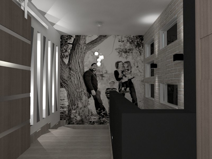 إنتقائي، أسلوب، الرواق، رواق، &، درج من AurEa 34 -Arquitectura tu Espacio- إنتقائي