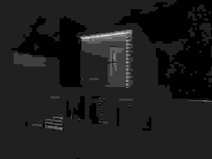 FACHADA Casas modernas de AurEa 34 -Arquitectura tu Espacio- Moderno