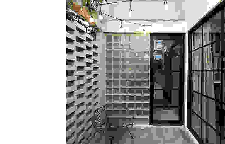 Balcon, Veranda & Terrasse industriels par MX Taller de Arquitectura & Diseño Industriel Béton
