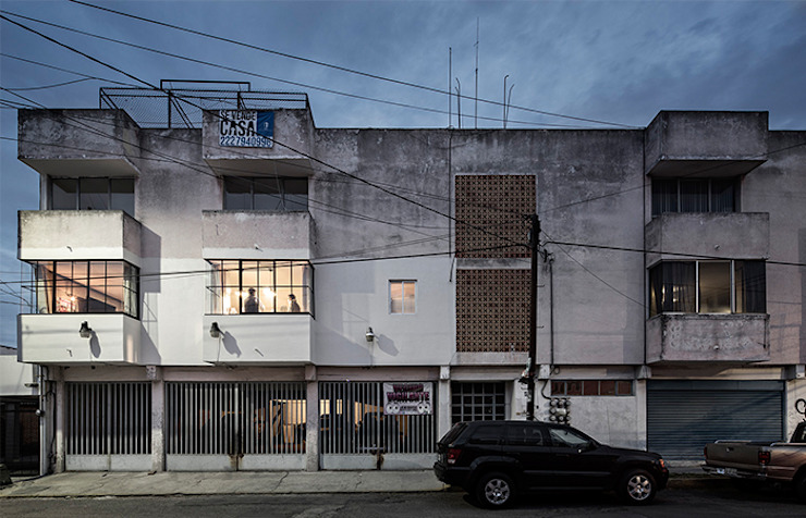 Industrial style houses by MX Taller de Arquitectura & Diseño Industrial