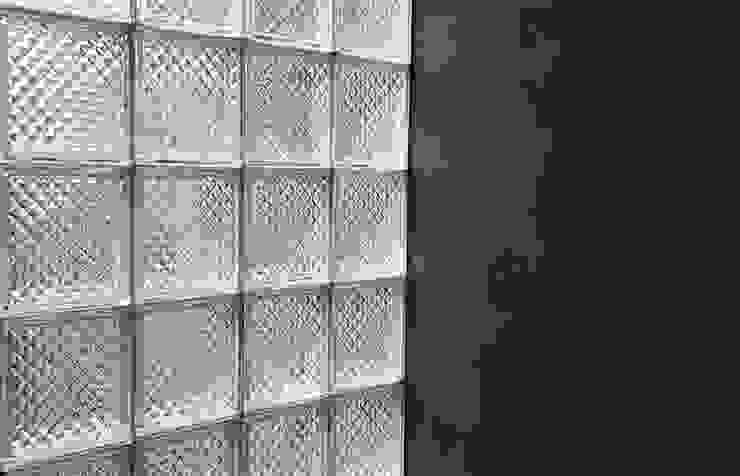 Balcon, Veranda & Terrasse industriels par MX Taller de Arquitectura & Diseño Industriel Verre