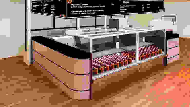 Últimos trabajos Cocinas modernas de Spazio3Design Moderno