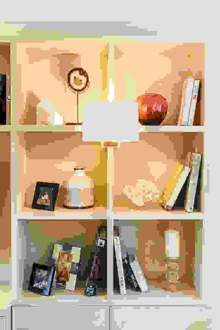 Colourful Transformation Lauren Gilberthorpe Interiors Living room Beige