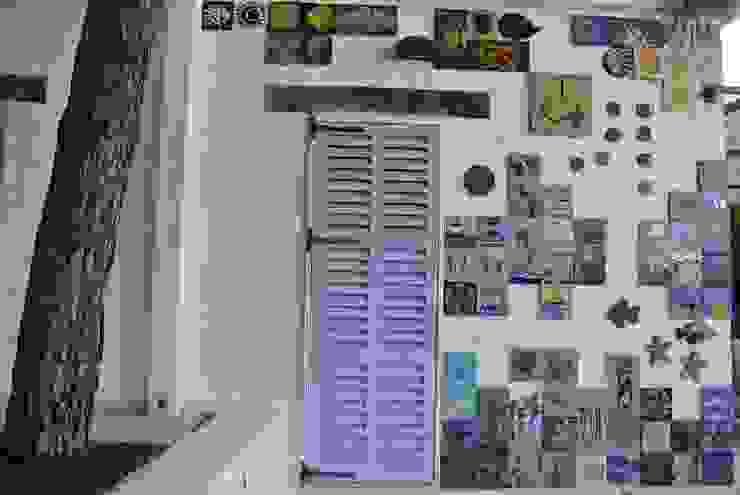 Bodrum'da özel bir villanın dış duvarı için yapılan mozaik ve seramik uygulama Mozaik Sanat Evi Akdeniz Mozaik