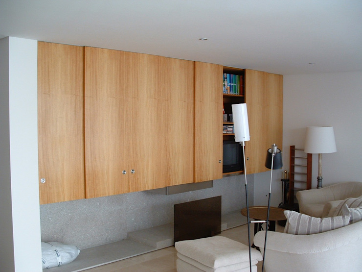 Casa Sá: Salas de estar  por Lousinha Arquitectos,Moderno
