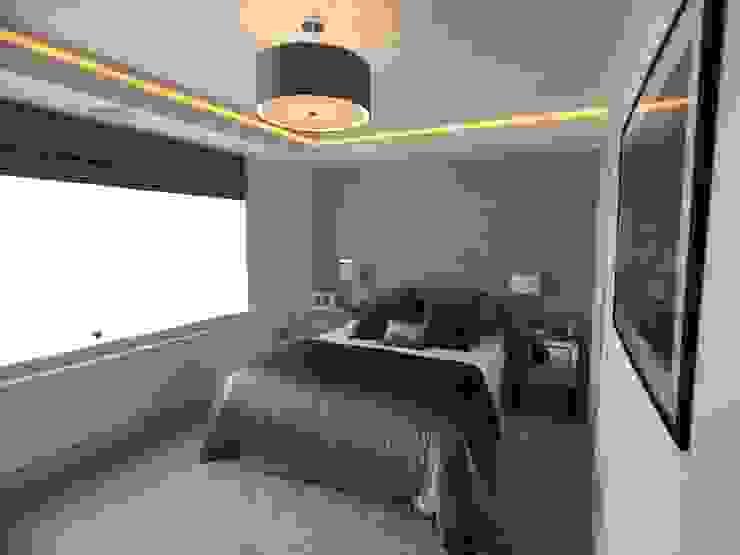 غرفة نوم تنفيذ Progressive Design London