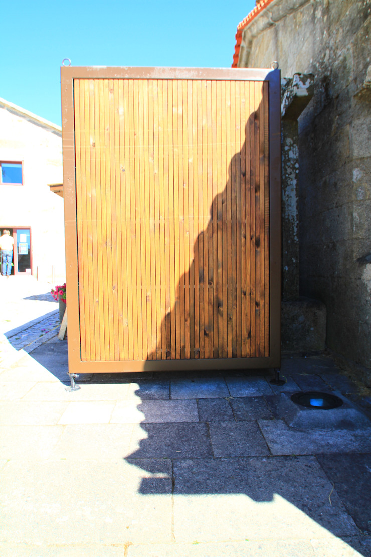 Quiosque Casas rústicas por Lousinha Arquitectos Rústico