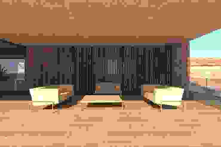 Terrasse de style  par Lousinha Arquitectos, Moderne
