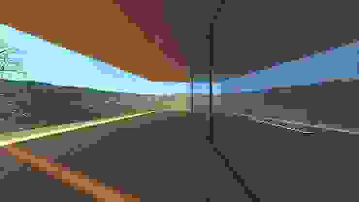 Minimalistischer Balkon, Veranda & Terrasse von Lousinha Arquitectos Minimalistisch