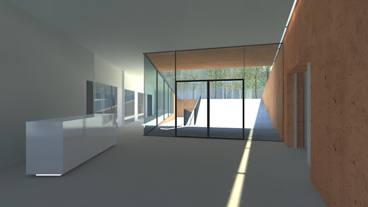 Puertas y ventanas de estilo minimalista de Lousinha Arquitectos Minimalista