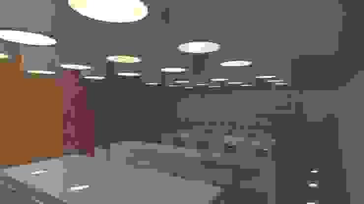 Minimalistischer Multimedia-Raum von Lousinha Arquitectos Minimalistisch