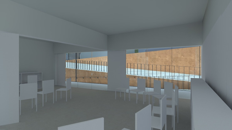 Centro Paroquial de Aguim Salas multimédia minimalistas por Lousinha Arquitectos Minimalista