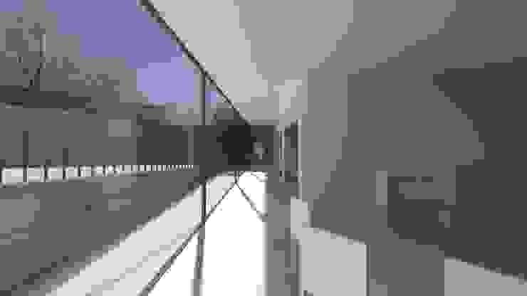 Minimalistischer Flur, Diele & Treppenhaus von Lousinha Arquitectos Minimalistisch
