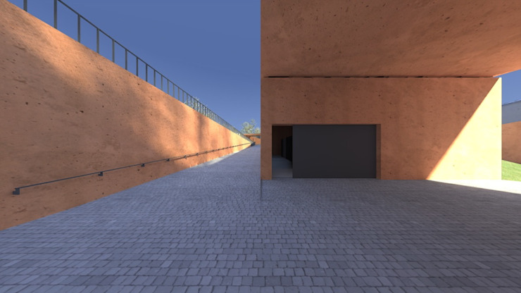 Centro Paroquial de Aguim Casas minimalistas por Lousinha Arquitectos Minimalista