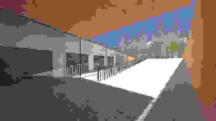 Minimalistische Häuser von Lousinha Arquitectos Minimalistisch