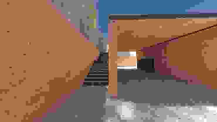 Pasillos, vestíbulos y escaleras de estilo minimalista de Lousinha Arquitectos Minimalista
