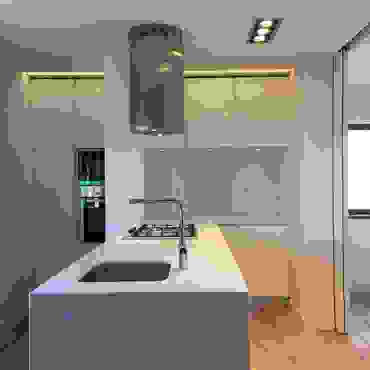 Cozinha Cozinhas modernas por HighPlan Portugal Moderno