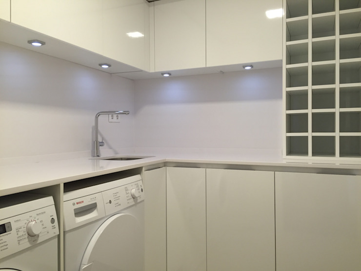 Copa / Lavandaria Cozinhas modernas por HighPlan Portugal Moderno MDF