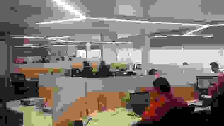 Oficinas Q Estudios y despachos industriales de idA Arquitectos Industrial