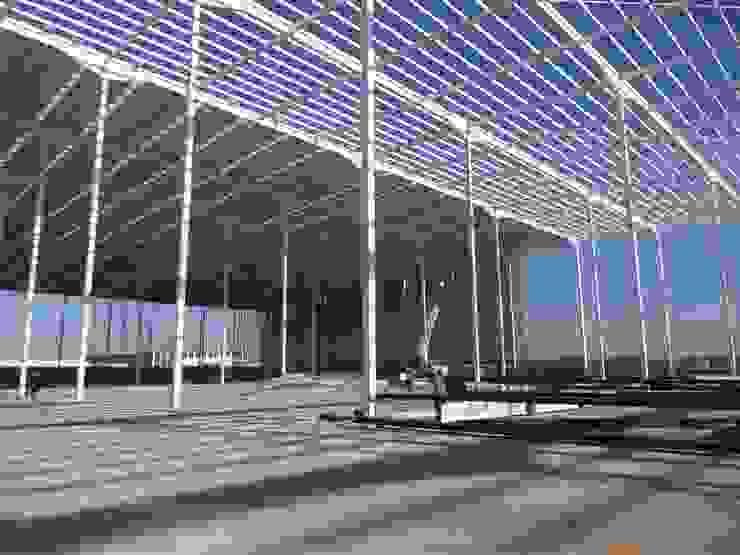 Nave industrial Estudios y despachos industriales de idA Arquitectos Industrial
