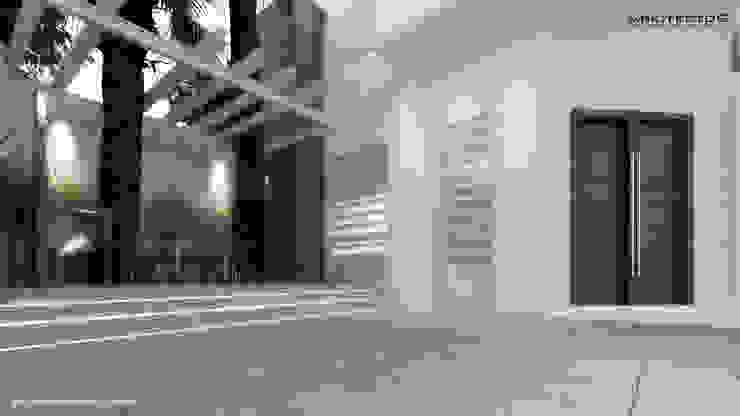 CASA MAGALLANES Casas modernas de arquitecto9.com Moderno