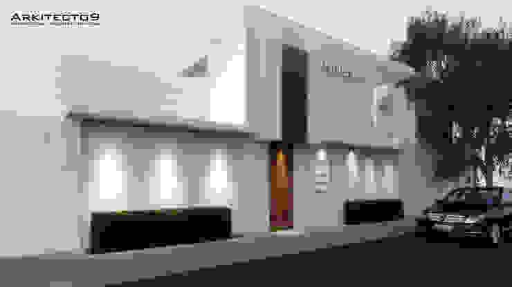 NOTARIA Casas minimalistas de arquitecto9.com Minimalista Concreto