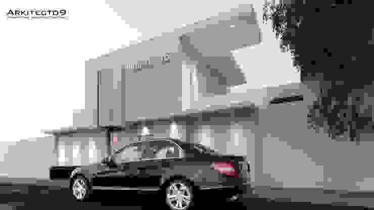 NOTARIA Casas minimalistas de arquitecto9.com Minimalista