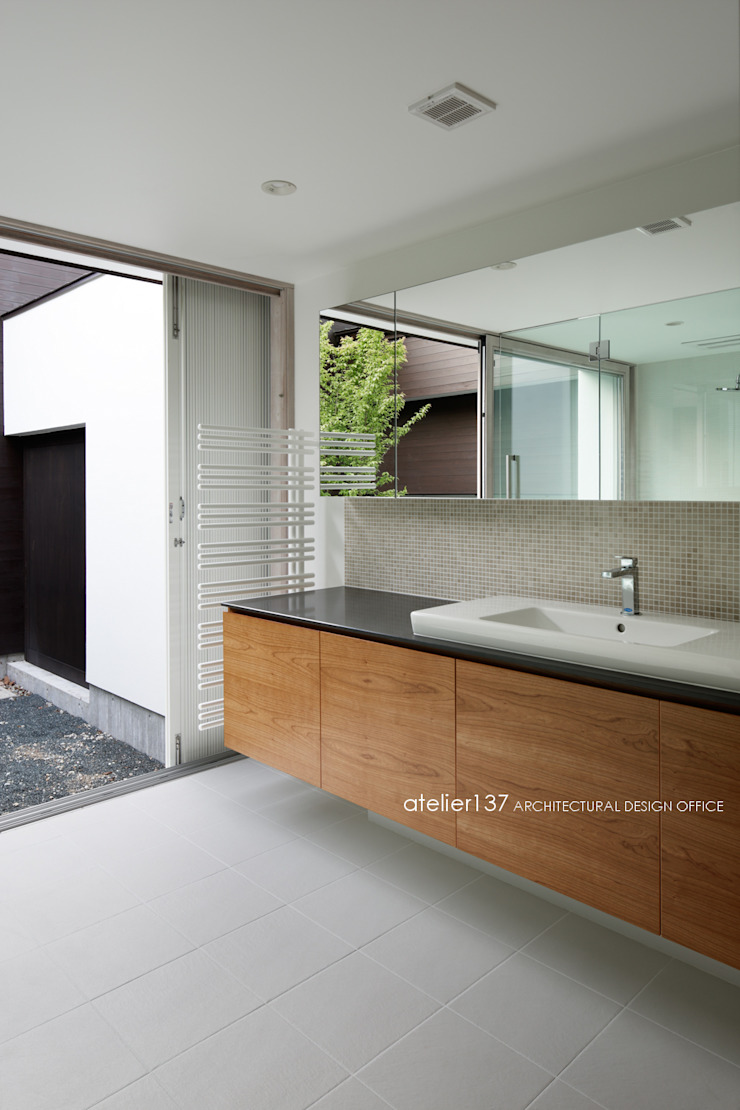 atelier137 ARCHITECTURAL DESIGN OFFICE Spa Wood Wood effect