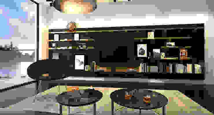 Modern living room by Innenarchitektur   Ina Nimmrichter Modern