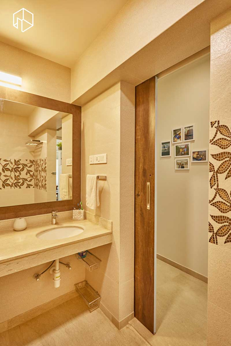 master bathroom Eclectic style bathroom by iSTUDIO Architecture Eclectic