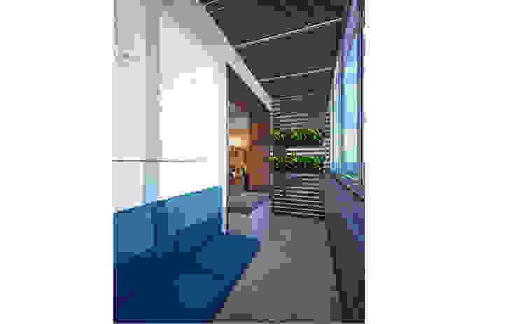 homify minimalist style balcony, porch & terrace