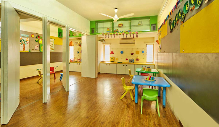 class rooms Modern nursery/kids room by iSTUDIO Architecture Modern