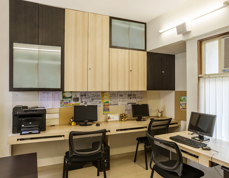 office cabinets: modern  by iSTUDIO Architecture,Modern
