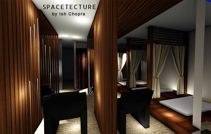 ALAYA SPA AND SALON Classic style spa by Spacetecture Classic