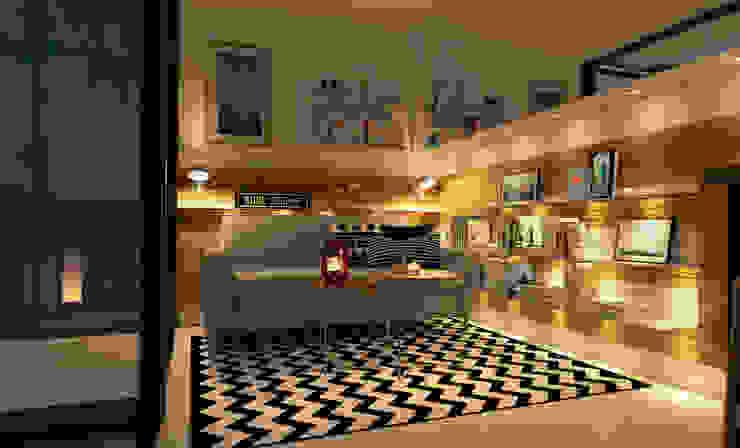 Salas de estilo escandinavo de Innenarchitektur | Ina Nimmrichter Escandinavo