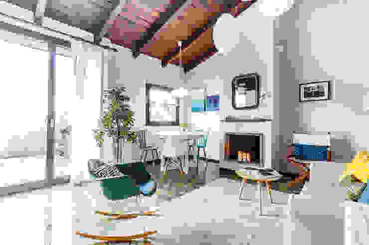 Salon de style  par Boite Maison, Moderne