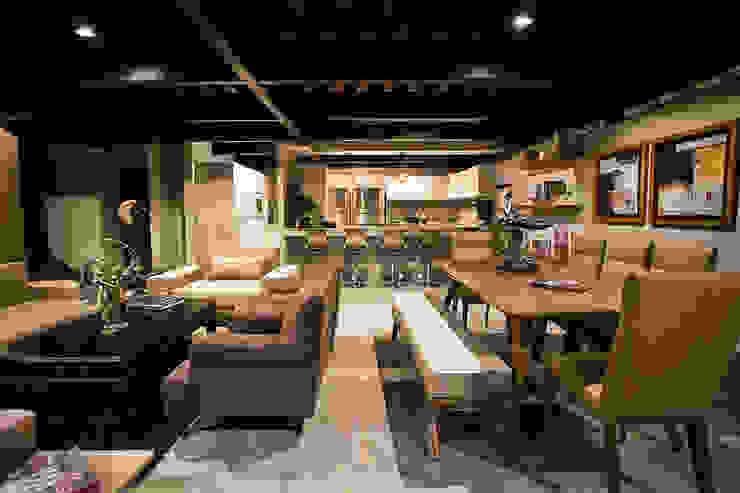 Modern living room by Con Contenedores S.A. de C.V. Modern
