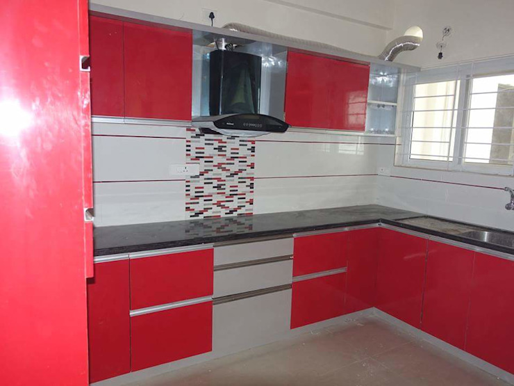 Kitchen Wadrobes By Womenz Modular Designers Private Limited Homify