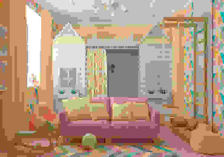 """Игровая комната """"Zootopia"""" vol. 2: Детские комнаты в . Автор – Студия дизайна Дарьи Одарюк,"""