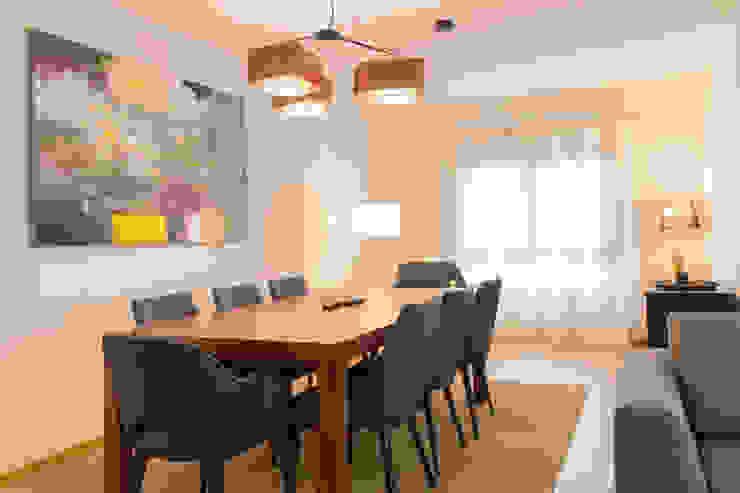 Lezírias House Salas de jantar modernas por Twelve Four Haus Moderno