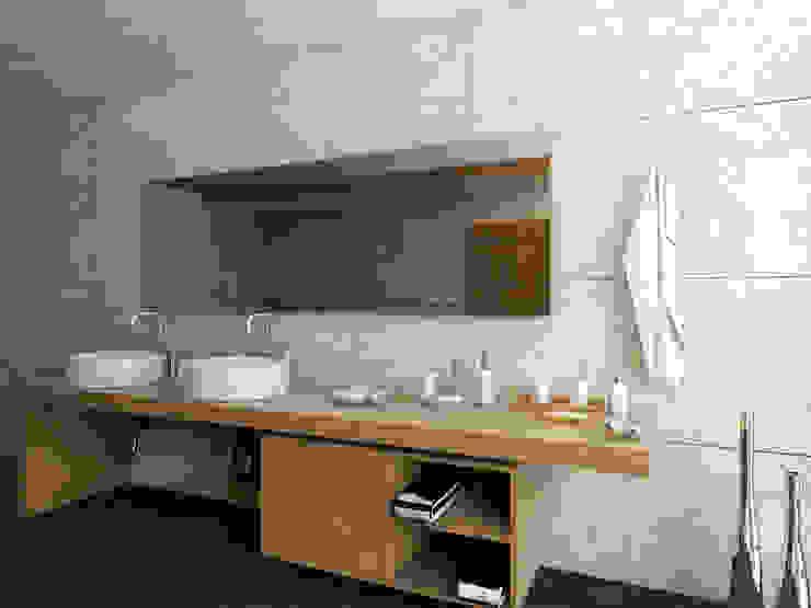 BAÑO Baños modernos de PROYECTARQ | ARQUITECTOS Moderno Cerámico