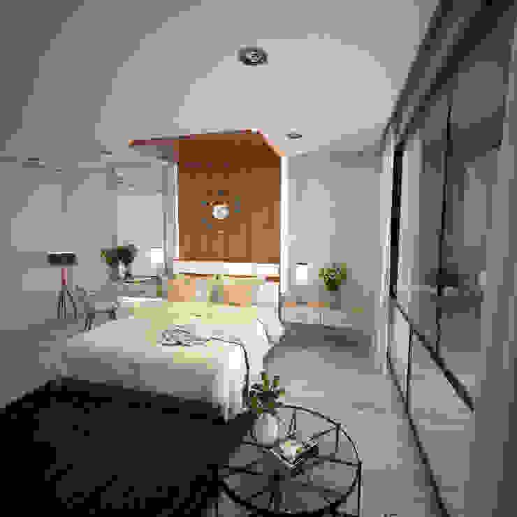 RECAMARA Dormitorios modernos de PROYECTARQ | ARQUITECTOS Moderno Concreto