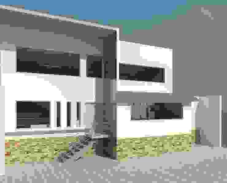 Fachada Principal Casas modernas de Perfil Arquitectónico Moderno