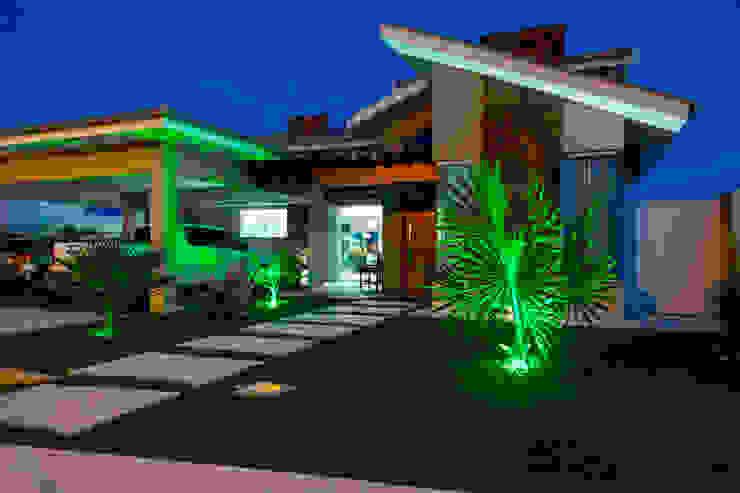 Residência E&A: Casas  por Daniele Galante Arquitetura