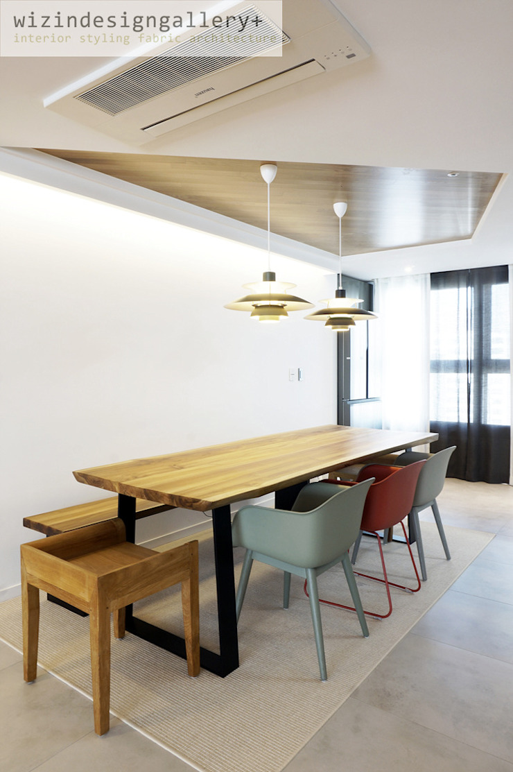 wizingallery Sala da pranzo moderna