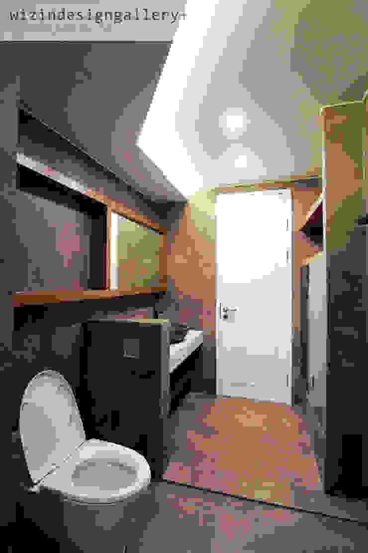 반포 래미안 퍼스티지 81PY 모던스타일 욕실 by wizingallery 모던