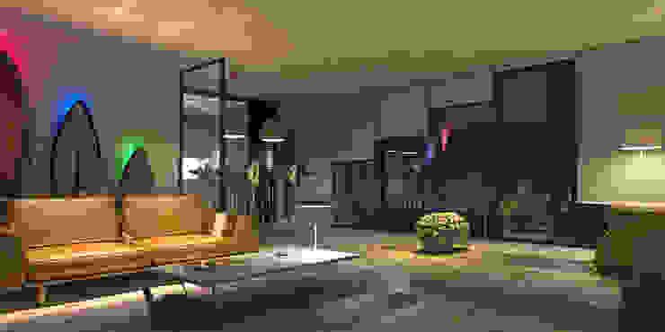 Livings de estilo moderno de dellaschiava Moderno