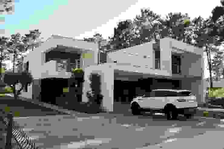 Casas minimalistas de Arquitecto Telmo Minimalista Concreto
