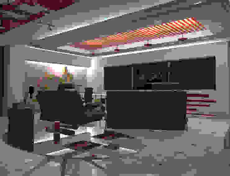 Interior 2 Locaciones para eventos de estilo minimalista de HC Arquitecto Minimalista